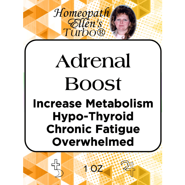 Homeopathic Adrenal Boost Tonic