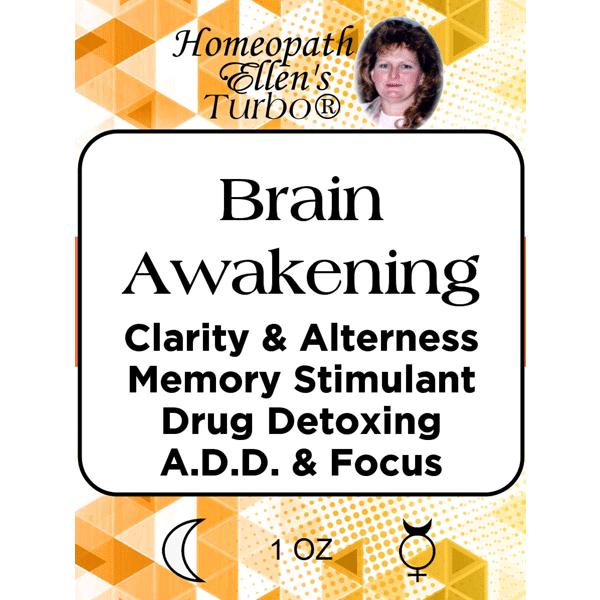 Brain awakening and clarity tonic.