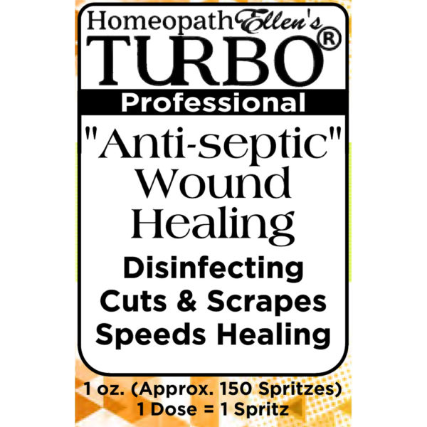 Homeopathic Anti-Septic Wound Healing Combo Spritz