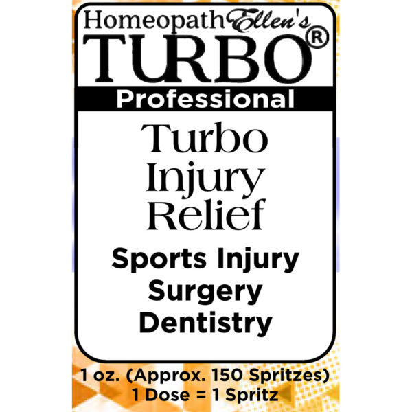 Turbo Injury Relief Combo Spritz Remedy